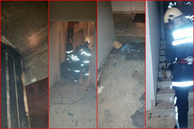 FOTO Požar na Nuncijati, na intervenciju izašlo jedanaest vatrogasaca