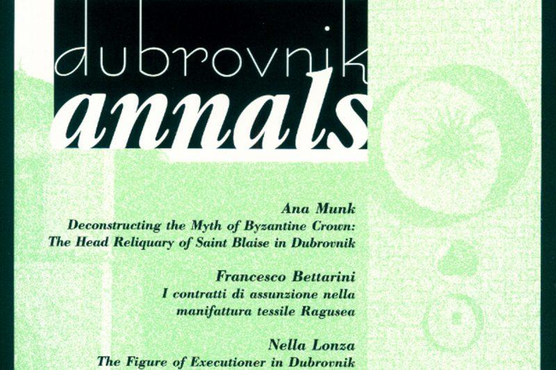 HAZU Objavio 20. ' Dubrovnik Annals'