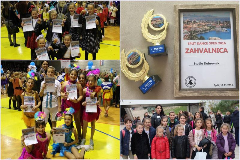 SPLIT DANCE OPEN Zumba Kids Dubrovnik osvojio dva zlatna trofeja!