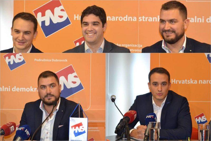 Dubrovački HNS-ovci 'popljuvali' poreznu reformu i župana Dobroslavića