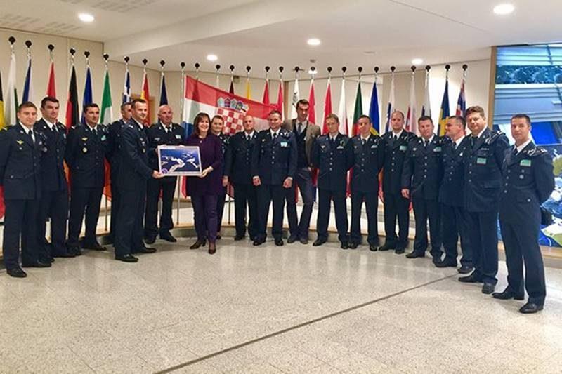 Šuica u Bruxellesu ugostila 'Krila Oluje' i pilote kanadera
