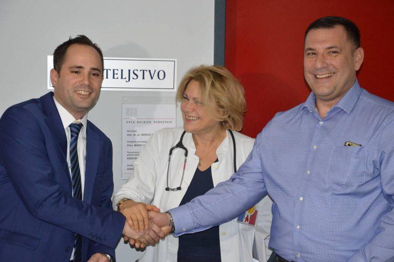 BRAVO Hotel Lero donirao 30 tisuća kuna za fibroscan Općoj bolnici Dubrovnik