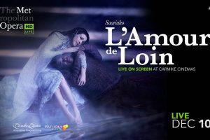 Metropolitan HD Live :  K. Saariaho : L'AMOUR DE LOIN / LOVE FROM AFAR @ Kino Visia