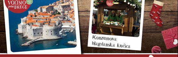 VOLIMO BLAGDANE Konzumova božićna čarolija u Dubrovniku