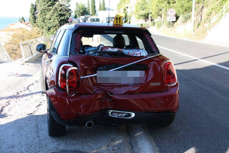 U deset nesreća sedam ozlijeđenih osoba