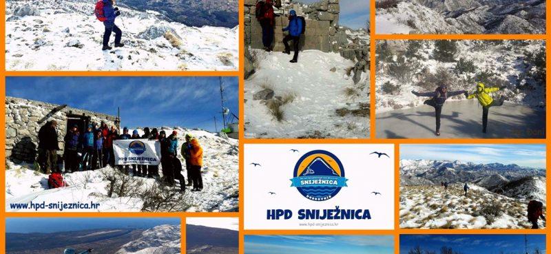 HPD SNIJEŽNICA & SNJEŽNA SNIJEŽNICA Kako su se proveli naši planinari na -15 stupnjeva?