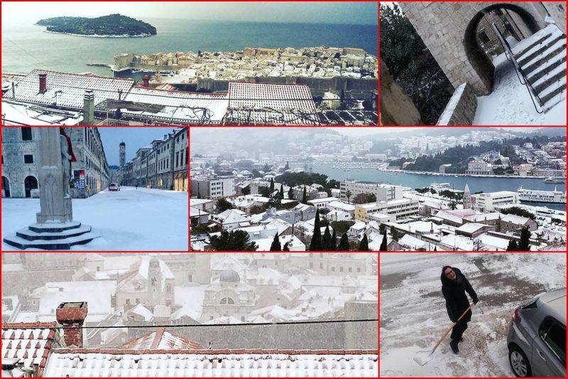 FOTO / VIDEO / BIJELE KONAVLE, ŽUPA, GRAD, BOSANKA… Ovo su vaše fotografije snijega!