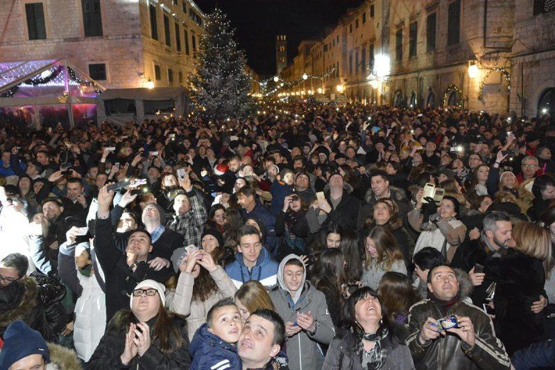 Novu godinu u Hrvatskoj dočekalo više od 60 tisuća turista