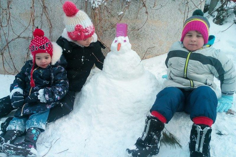 FOTO Petar je za šesti rođendan na dar dobio – snijeg!