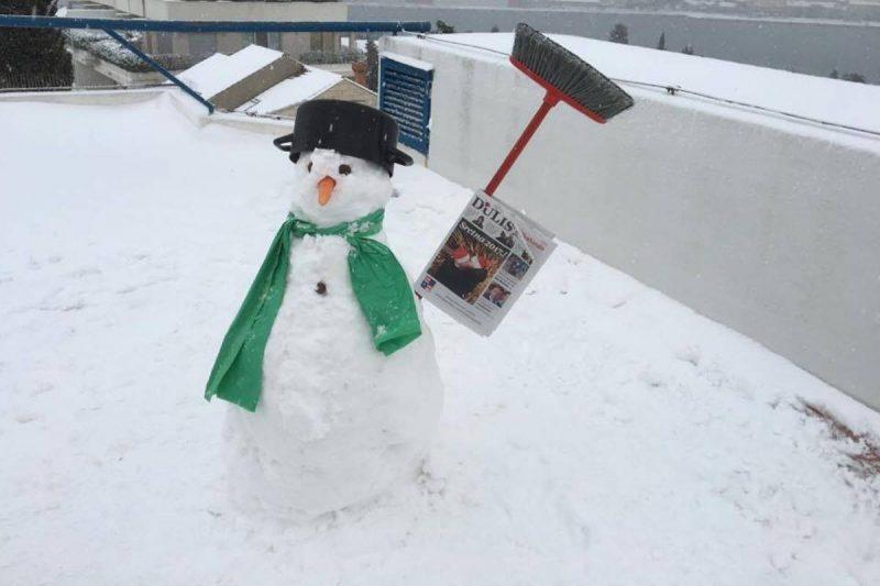 FOTO Mi smo napravili snješka! A gdje je vaš!?
