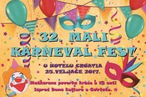 POSEBNI GOST 'JOZO BOZO' Mame Cavtat pozivaju na 32. Mali karneval fest!