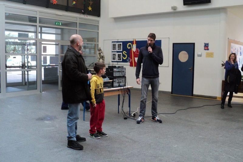 'KAKO TI SE DA TRENIRATI?' Obradović i Joković djeci predstavili Gusarevu školu plivanja