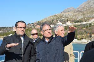 FOTO Ministar Gari Cappelli obišao budući župski Sensatori
