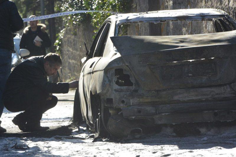 U Šipčinama izgorio automobil