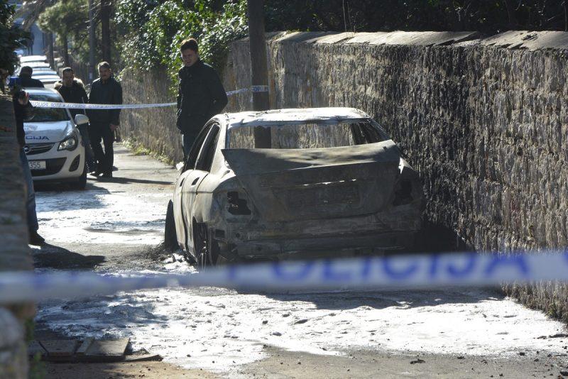 PROVODI SE KRIMINALISTIČKO ISTRAŽIVANJE Tko je zapalio Mercedes?