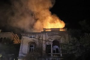 Sutra privođenje osumnjičenih za podmetanje požara na Vili Sunčanica