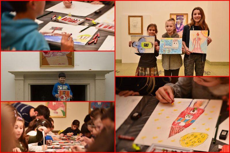 FOTO/RADIONICA U UGD-u Pogledajte umjetnička djela dubrovačkih mališana