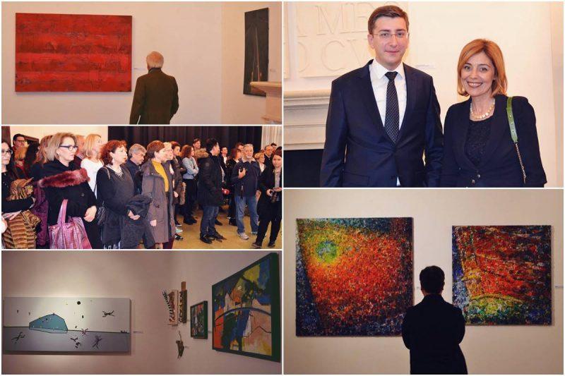 PRESJEK LIKOVNOSTI GRADA Otvorena izložba 71 autorice i autora u Umjetničkoj galeriji Dubrovnik