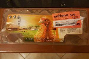 NALJEPNICA PREKO DRUGE Konzumovim jajima odavno istekao rok, a uredno su na policama?