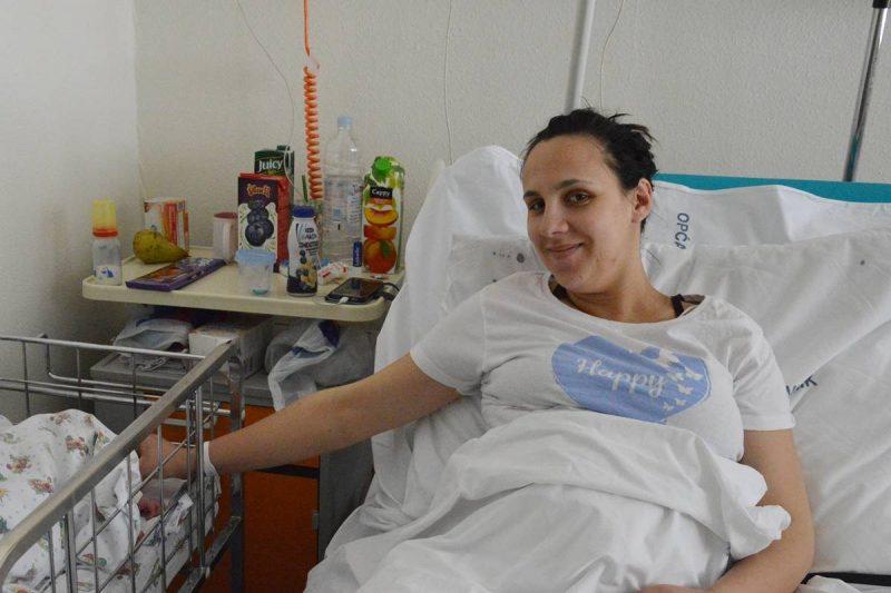 FOTO Ivana Hasanović, prva rodilja koja je imala besplatan bezbolan porod u OB Dubrovnik
