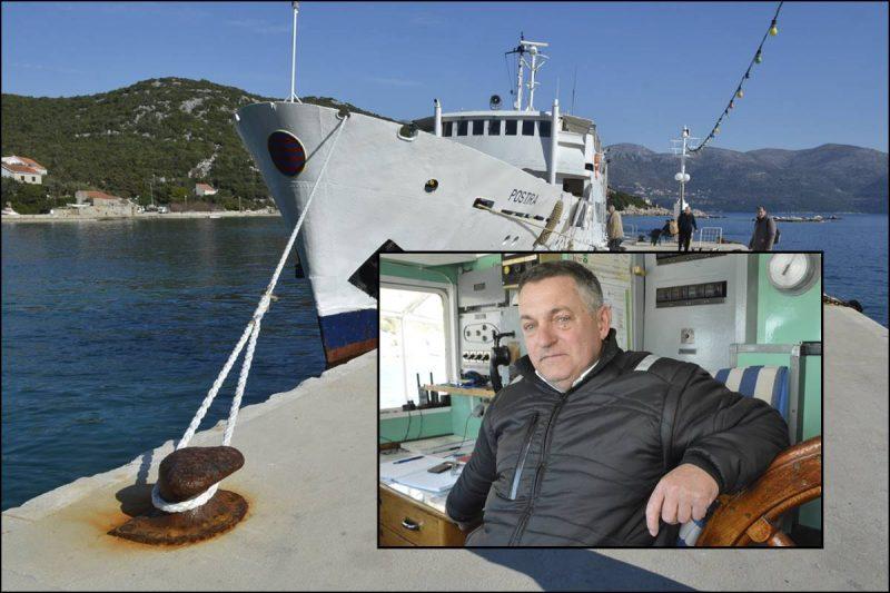 KAPETAN I FESTANJUL LUKO ŠOLETIĆ Postira za otočane znači život, brod im je sve!