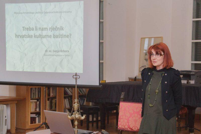 SANJA BRBORA 'Učenje baštinskog leksika pridonosi jezičnoj kompetenciji'