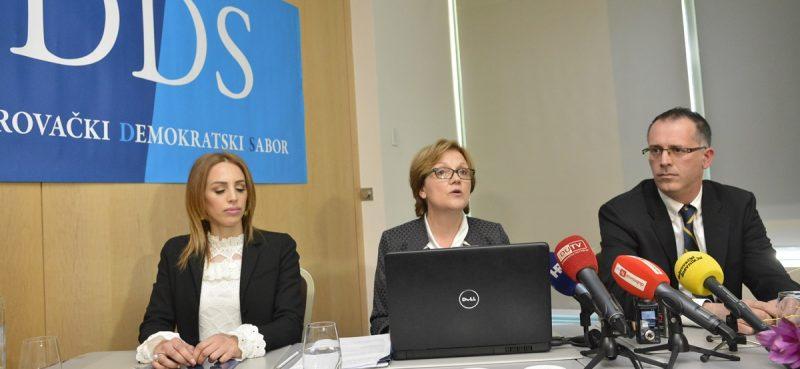 FOTO Jelena Crnčević i Lukša Matušić kandidati za zamjenike Terezini Orlić
