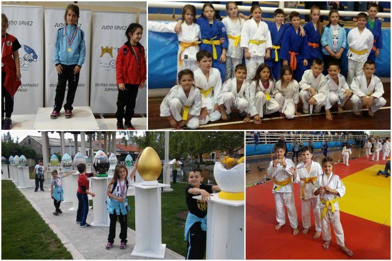 USKRŠNJI JUDO KUP Mladi Konavljani s 11 medalja iz Solina