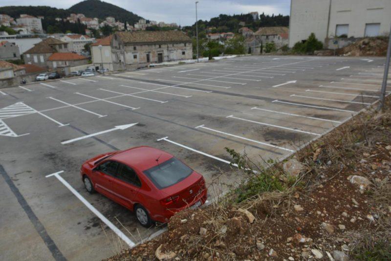 FOTO U Gružu novih 156 parkirnih mjesta u trećoj zoni!