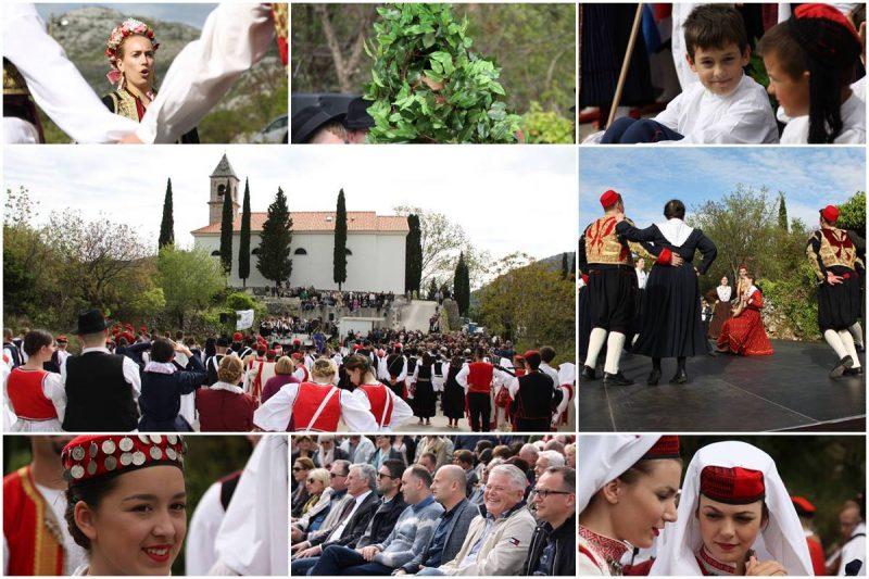 FOTOGALERIJA Osmi 'Uskrs u Primorju' održan u Kliševu, skupili se i politički kandidati