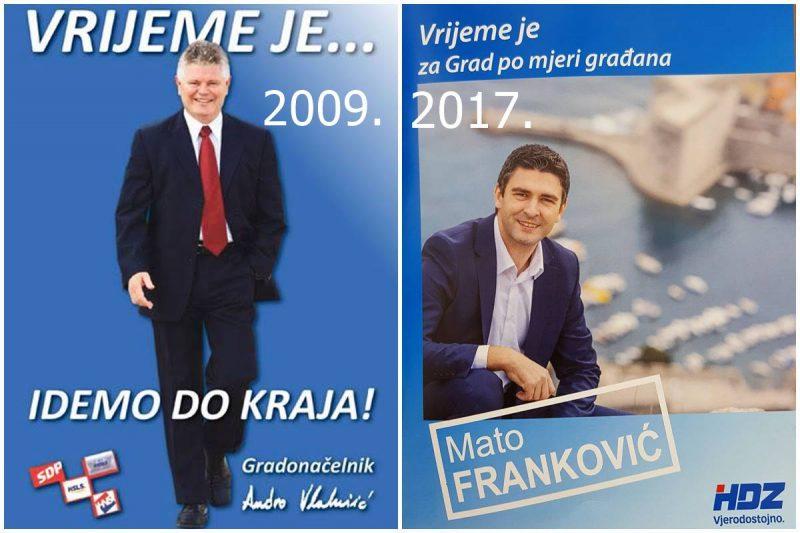 VRIJEME JE I 2009. I 2017. Neinventivni Franković kopirao 'prastarog' Vlahušića