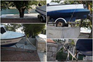 FOTO 'Na 'novootvorenoj' plaži za Mokošane netko je lijepo privezao barku!'
