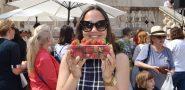 FOTO / DOMAĆE JE DOMAĆE Stonske jagode privukle brojne posjetitelje