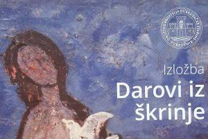 Darovi iz škrinje - izložba umjetnina iz fundusa DPDS-a @ Društvo prijatelja dubrovačke starine