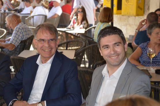 FOTO / GARI CAPELLI U GRADU Uz podršku Dobroslaviću i Frankoviću ministar iznio i nove turističke ideje