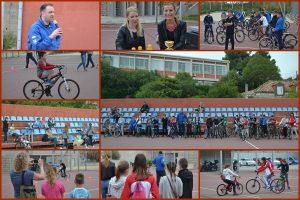 VIDEO/FOTO: 'ZNANJEM PROTIV NASILJA' Osnovnoškolci pokazali svoje biciklističke vještine
