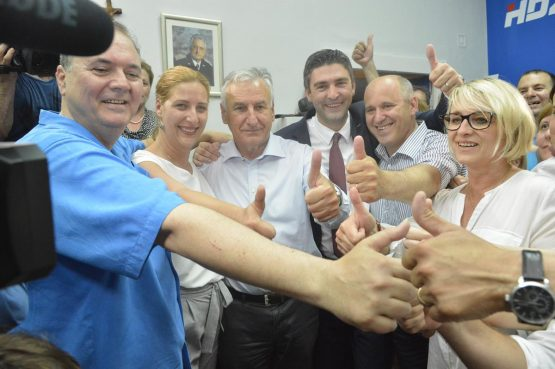 FOTO/VIDEO Franković nakon pobjede: Nema vremena za godišnje odmore, proračun usvajamo do 1. srpnja!