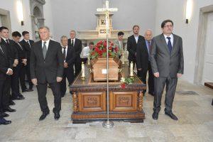 FOTO Dubrovnik se oprostio od legende hrvatskog sporta Andrije Habulina