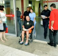 Cvijeto Antunović u kolicima izveden iz bolnice i otpremljen za Remetinec