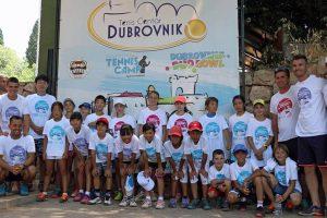Dubrovnik postaje svjetski centar tenisa za djecu