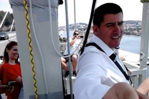 VIDEO Grmoja bungee skokom s Mosta dr. Franja Tuđmana pokazao spremnost za odvažne poteze