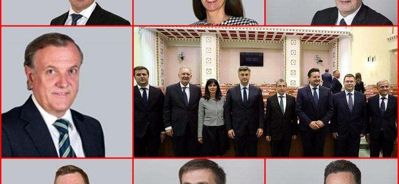 POTVRDIO SABOR Ovo su novi Plenkovićevi ministri