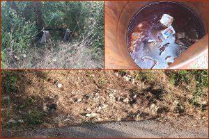 FOTO Na Petci polomljene klupe, kante pune smeća i vode…
