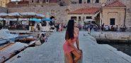 FOTO Jedna od najljepših žena na svijetu posjetila Dubrovnik