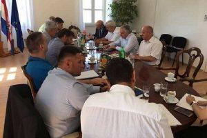 U Stonu održana sjednica Povjerenstva za izgradnju Pelješkog mosta