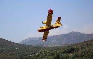IZGORJELO DESETAK HEKTARA Lokaliziran požar kod Prižbe na Korčuli