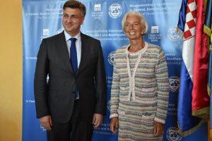 ŠEFICA MMF-a LAGARDE U DUBROVNIKU Plaćat ćemo eurom tek 2021.?