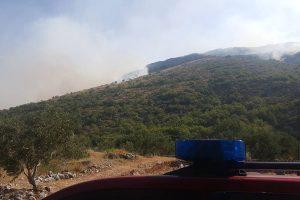 Požar došao na 500 metara od Pičeta, cijelu noć eksplodirale zaostale mine