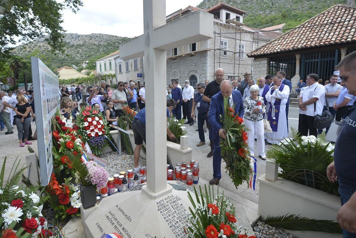 OVOG ČETVRTKA Sjećanje na poginule Imoćane u Trstenom