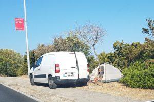 Recept za odmor: Autom prijeđi tisuće kilometara da bi odsjeo u šatoru pored puta